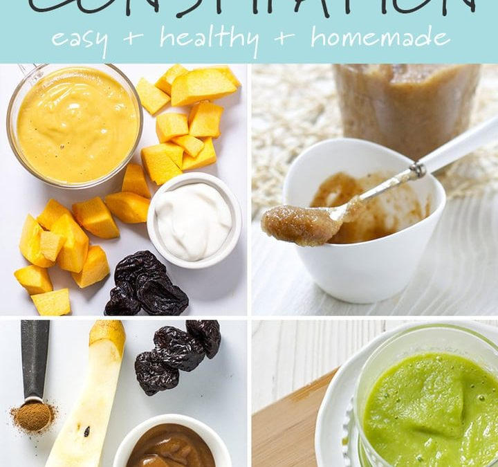 Are There Baby Foods That Help with Constipation?